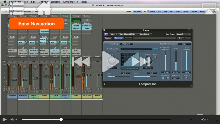 Course For Logic's Electronica Workflow Tricks screenshot-3