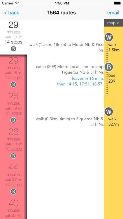 LA Public Transport Guide screenshot-3