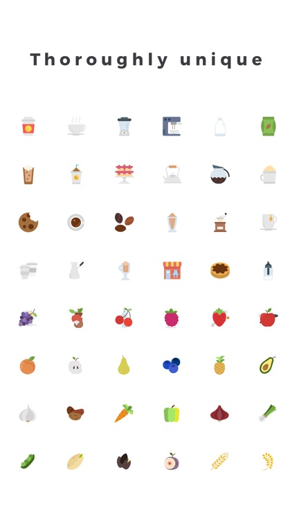 food and drink - Stickers for iMessage