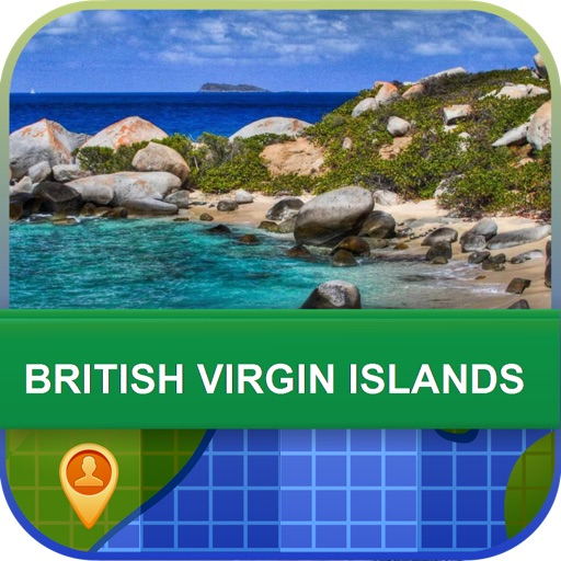 British Virgin Islands Map - World Offline Maps icon