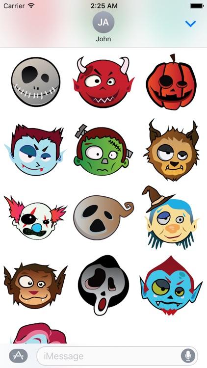 Happy Halloween Emotion Sticker