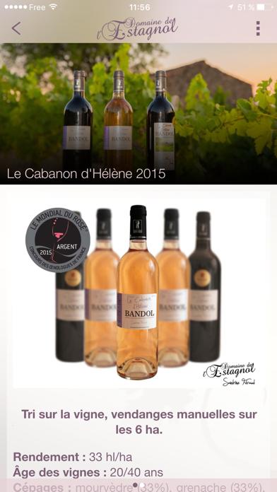Domaine de l'Estagnol - Vins de Bandol screenshot four
