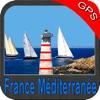 France Mediterranean GPS Chart