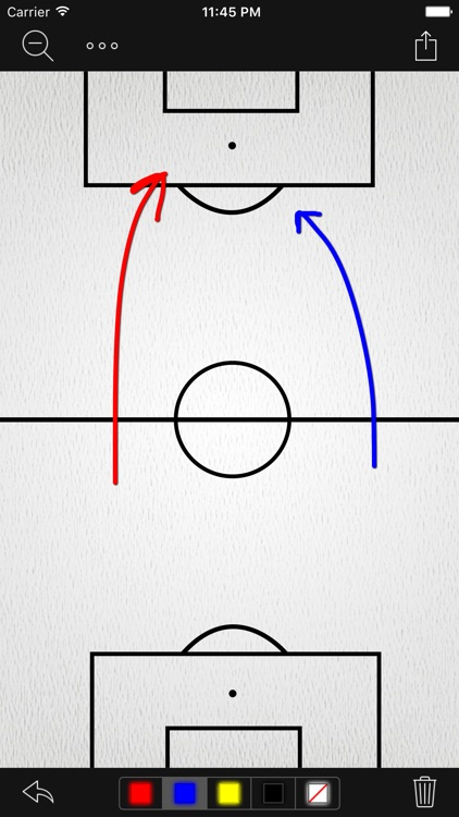 InfiniteSoccer Whiteboard screenshot-0