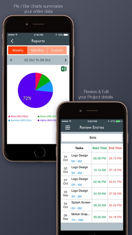 Simple Time Tracker screenshot-4