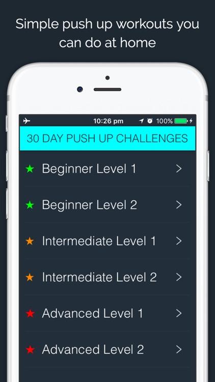 30 Day - Push Up Challenge