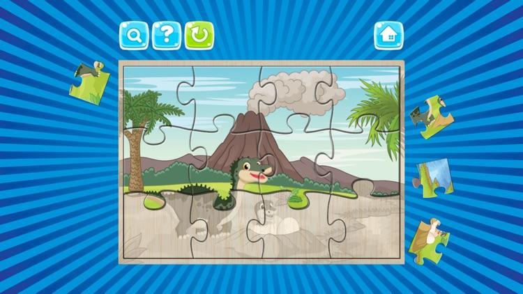Dino Puzzle : Kids Dinosaur Jigsaw Puzzles Games screenshot-3