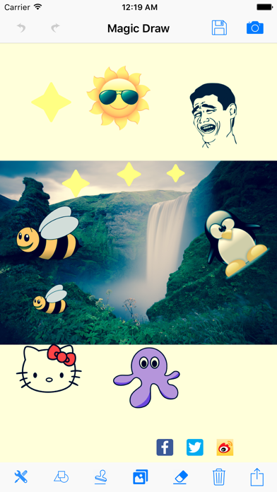 MagicDraw Free: Paint Sketch Canvas Funny Selfie screenshot three