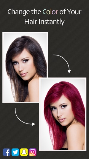 Hair Color Booth™ on the App Store