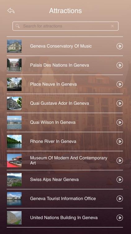 Geneva City Guide