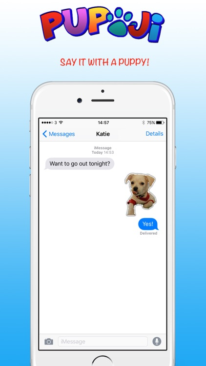 Pupoji - Cute Dog Emoji Keyboard Puppy Face Emojis