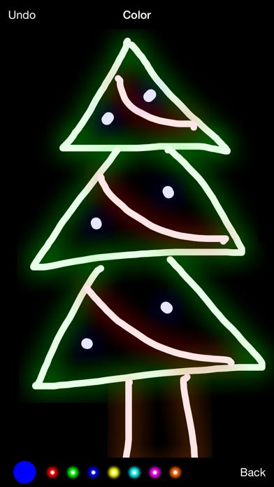 Glow Draw! Screenshot on iOS