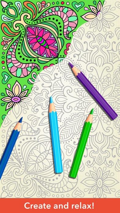 Zen Colouring for Adults screenshot two