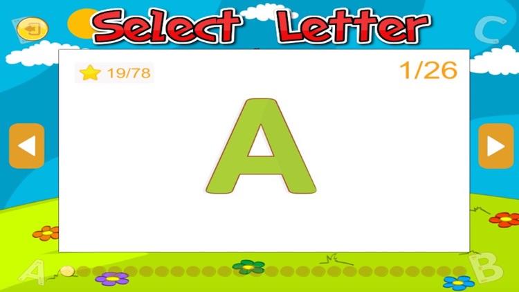 ABC Alphabet tracing kindergarten and first grade screenshot-3