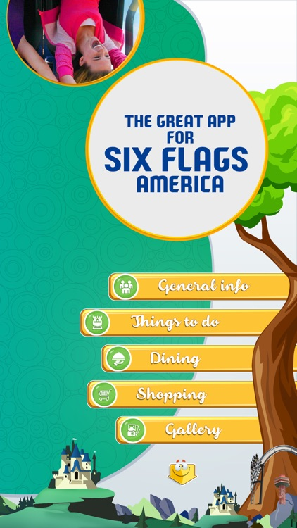 The Great App for Six Flags America