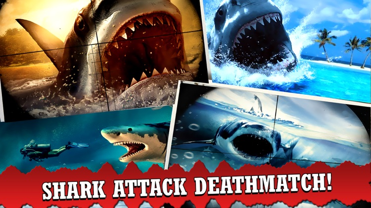 3D Shark Spear-fishing Hungry Sniper world Games screenshot-4