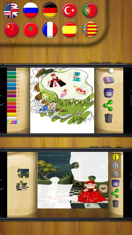 Classic fairy tales 3 - interactive book for kids