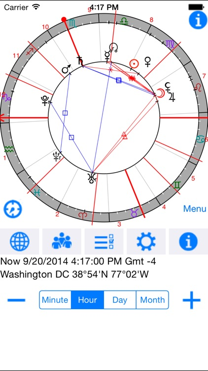 Astrological Charts Pro screenshot-0
