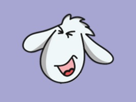 Funny Sheep GIF stickers for iMessage