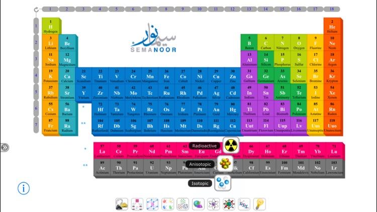 Semanoor Periodic Table screenshot-3
