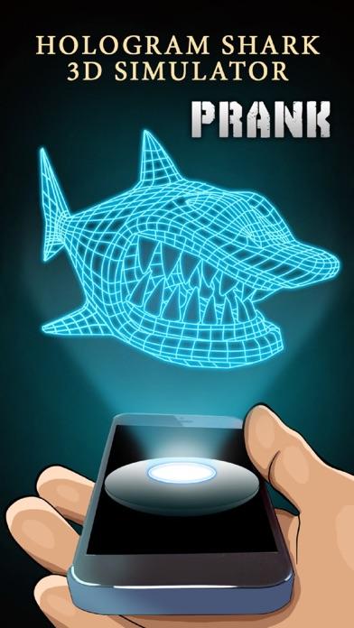 Hologram Shark 3D Simulator