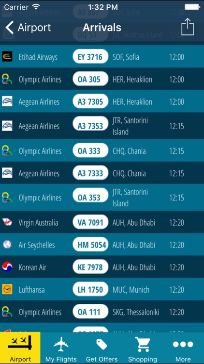 Athens Airport (ATH) + Flight Tracker screenshot-3