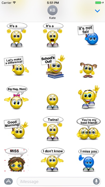 Animated Expressions Stickers