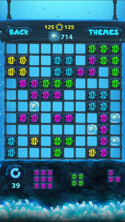 Block Puzzle: Ocean style,Popping bubbles screenshot-1