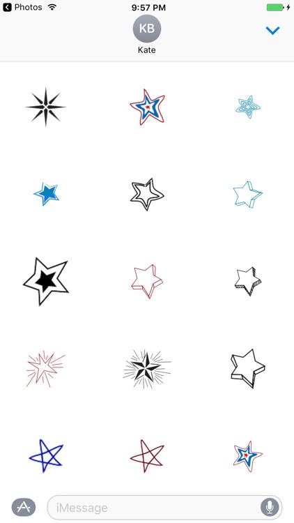 Draw Star - Fx Sticker