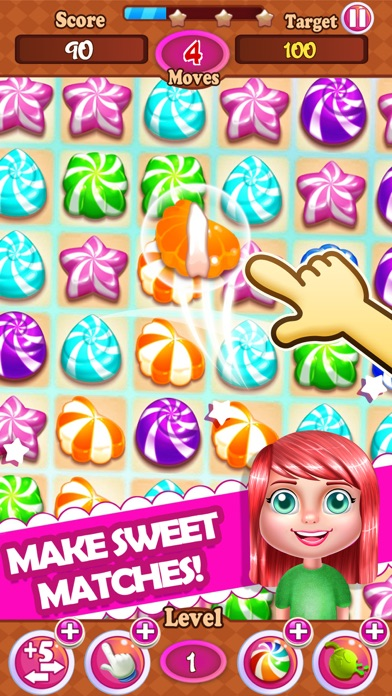 Candy Mania Blast Match-3 Fruit Swap Puzzle games iOS Game Version