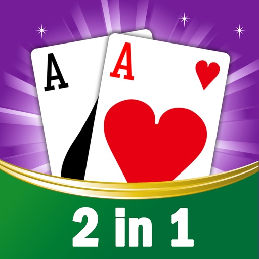 2 in 1 New for Solitaire
