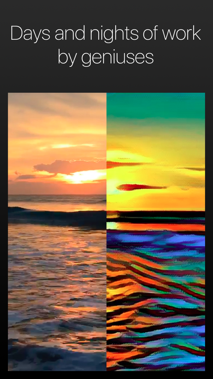 Artisto – Video and Photo Editor with Art Filters Screenshot