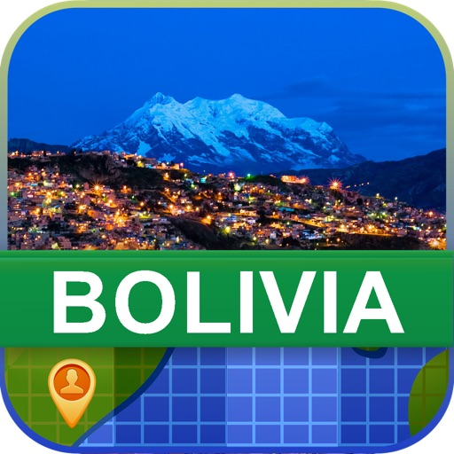 Offline Bolivia Map - World Offline Maps