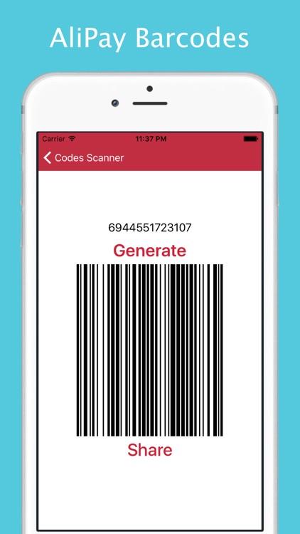 QR Codes Reader and Barcode Scanner screenshot-3