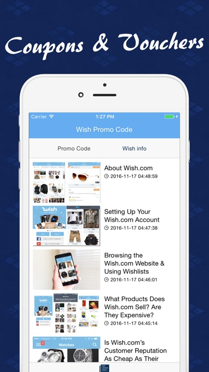 Wish app coupons