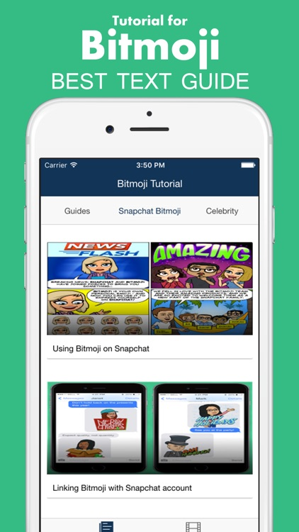 Tutorial for Bitmoji: How to create avatars