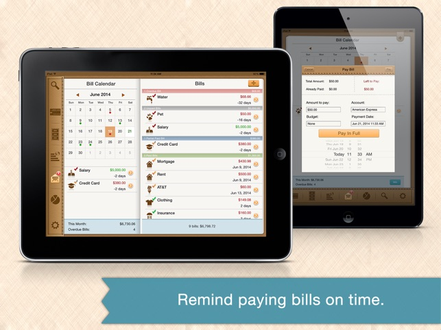 Money Monitor Pro For Ipad Budget Bill Manager 4