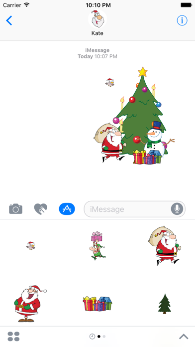 Days to Christmas Sticker Pack screenshot two