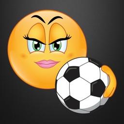 Futbol Emoji Stickers For Her
