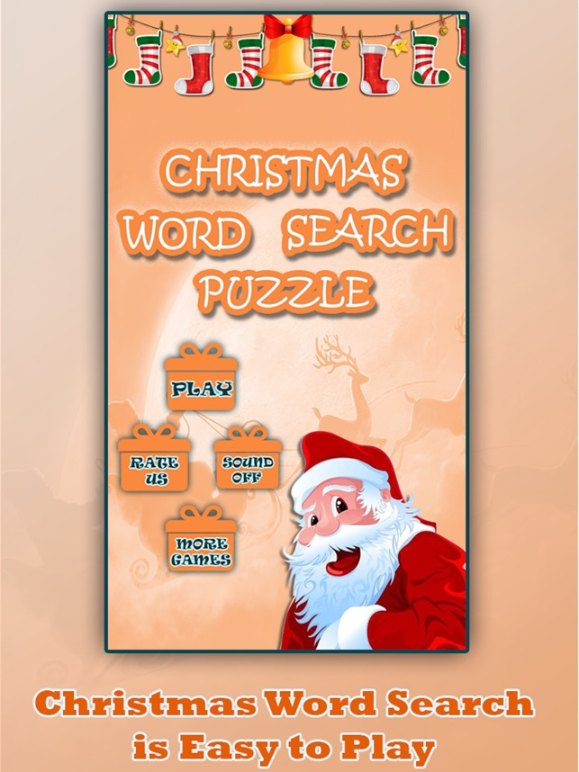 christmas word search puzzle on the app store - Christmas Word Search Games