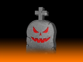Enjoy these frightfully funny animated Halloween tombstone stickers for you to use in your iMessages