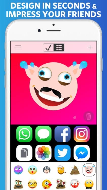 Emoji Master - Create and share your own emojis! screenshot-3