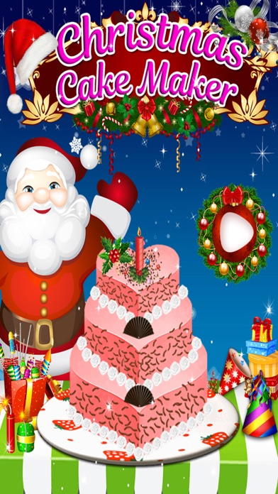 Christmas Birthday Cake Maker - Kids game for free