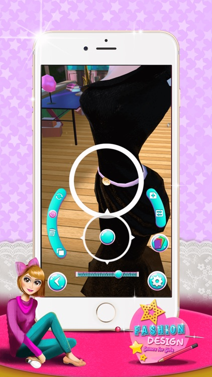 Fashion Design Game S For Girls Make Princess Clothes In Star Dress Designer Studio By Nenad Cvetkovic