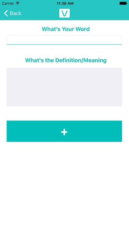 Vocab-Make Your Own Vocabulary