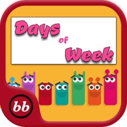 Days Of Week Learning For kids Using Flashcards and sounds-A Baby Book