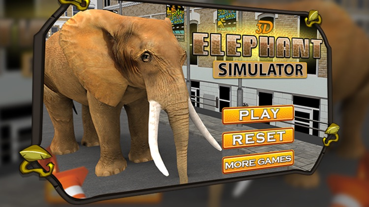 3D Elephant Simulator – Angry Animal Simulator screenshot-3