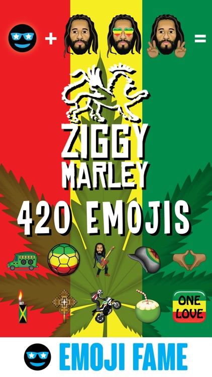 Ziggy 420 by Emoji Fame screenshot-0