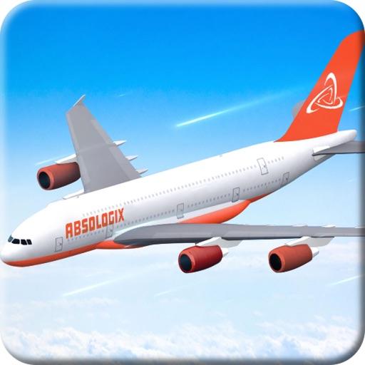 Самолет симулятор полета 3D - струйного игра реали