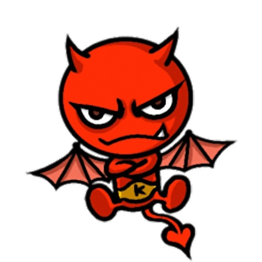 Little Devil - Cute devil stickers